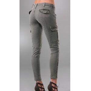 J Brand Houlihan Cargo Skinny Jeans Vintage Olive